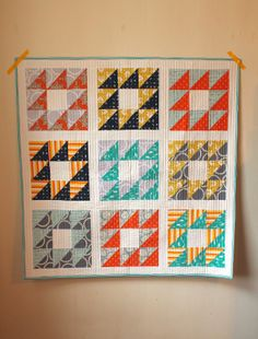 Anchor's Quilt (with link to method instructions) | a little gray