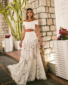 New moda femenina vestidos verano Ideas Fashion Mode, Boho Fashion, Fashion Dresses, Suit Fashion, Trendy Fashion, Style Fashion, Dress Suits, Dress Up, Lace Dress