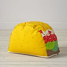 Shop Taco Pouf. Tacos may only be for Tuesday, but our Taco Pouf is perfect for any day of the week.