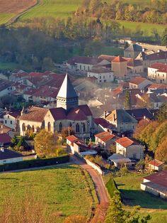 Village of Poissons, France, Département of Haute-Marne Copyright: Brigitte Rebollar