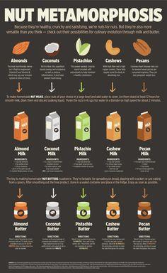 I tipi di frutta secca e il loro utilizzo