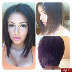 Oh. My. Hair! I want this cut!!!