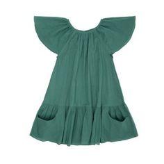 Ketiketa Carmen Green Blue Dress