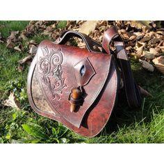 SAC, sac médiéval en cuir