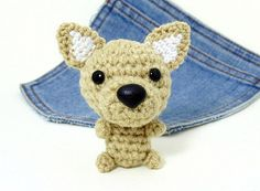Amigurumi Chihuahua crochet Chihuahua dog. Chihuahua by Owlystore