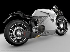 Electric Motorcycle from Paolo De Giusti... sorry, it's just so beautiful I had to show you another angle.