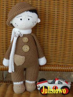 crochet boy Julisiowo