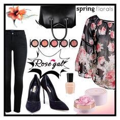 """""""Rosegal"""" by airin-flowers ❤ liked on Polyvore featuring Givenchy and Casadei"""