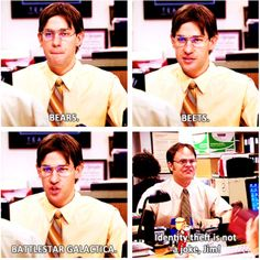 Jim and Dwight -- The Office