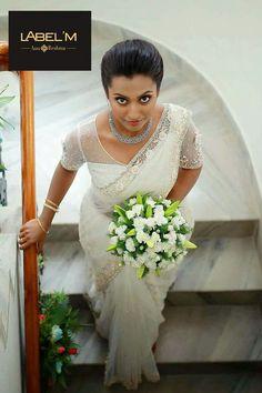 Whatsapp on 9496803123 to customise Christian wedding sarees Christian Wedding Dress, Christian Bridal Saree, Christian Bride, Wedding Sari, Wedding Bride, Wedding Gowns, Rustic Wedding, Bridal Outfits, Bridal Dresses