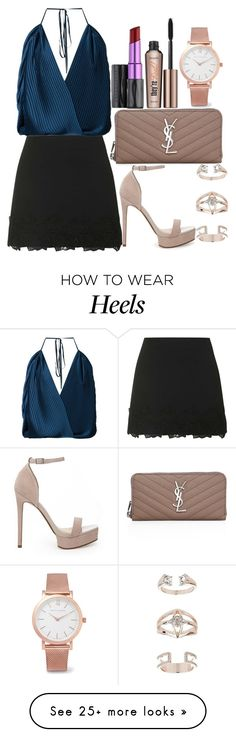 """Untitled#1437"" by mihai-theodora on Polyvore featuring Topshop, Tome, ASOS, Benefit, Yves Saint Laurent, Urban Decay and Larsson & Jennings"