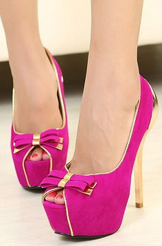 Pink & Gold with Bows