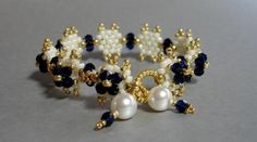 Imperial Court Bracelet Pattern by PeregrineBeader on Etsy, $6.00