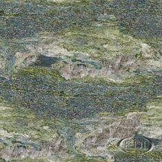 Verde Rey Imperial Granite (Kitchen-Design-Ideas.org)