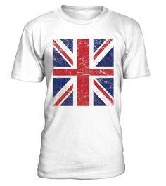 Adults Mens Union Jack Flag Print Short Sleeve White T-Shirt Top United Kingdom