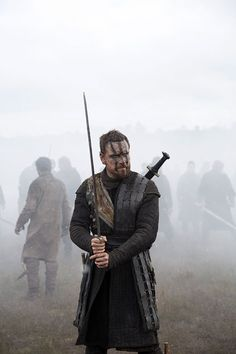 Macbeth - Michael Fassbender in Macbeth, set in the 11th century (2015).