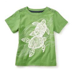 Batik Turtles Graphic Tee