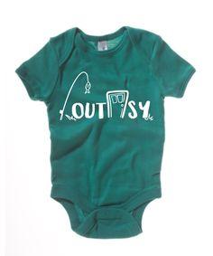 Short-Sleeve Outdoorsy Onesie