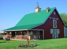 Old Swedish Barn
