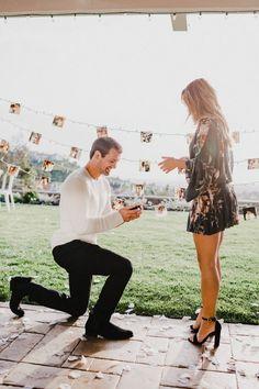 Wedding Proposal Ideas in Scott's Dad's House