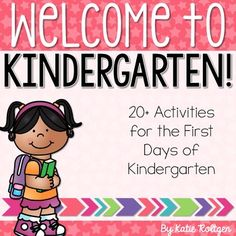 Back to School Activities for Kindergarten - You get more than 20 activities that will save you time during the first, busy week of school. You get NO PREP printable worksheets that cover basic skills, three fun mini books, quick assessments, an editable first day award, and MUCH MORE. Click through to see what all is included and how your kinders will benefit from this download.
