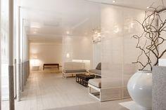 Pyeon-Gang Traditional korean medicine hospital, Republic of Korea Lounge Design, Spa Design, Spa Interior, Interior Design, Column Design, Dental Office Design, Hospital Design, Clinic Design, Workspace Design