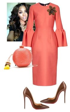 """""""TBT Holy Convocation 16'"""" by cogic-fashion on Polyvore featuring Roksanda, Serpui, Christian Louboutin and Fantasy Jewelry Box"""