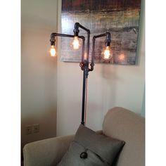 Diy industrial floor lamp industrial style floor lamp and industrial modern industrial floor lamp aloadofball Gallery