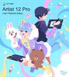 Manhwa, Art Tablet, Character Art, Character Design, Webtoon Comics, Line Friends, Rainbow Art, Cute Gay, Boyfriend Girlfriend