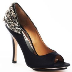 #Badgley Mischka wedding shoes designer bridesmaid shoes #evening shoes