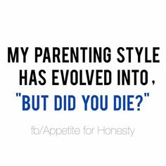 Funny quotes, parenting