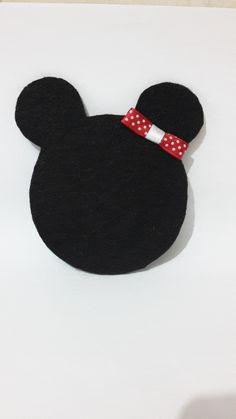 Minnie Mouse keçe bardak altlığı