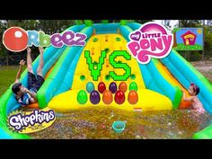 BIGGEST ORBEEZ POOL & BALLOONS 1,000,000+ ORBEEZ SURPRISE TOY GAME SURPRISE EGGS MyLittlePony Toys - YouTube