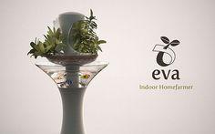 Eva Indoor Homefarmer: Grow vegetables and clean air the easy way
