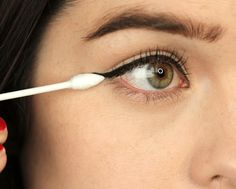 Quick #Beauty Fixes – You will definitely thank us for each of these life-saving Beauty Tip -- CORRECT YOUR #EYELINER   #BeautyTips #FashionLady