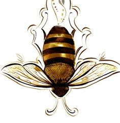 Bee painting, inspired by an aesop fable.