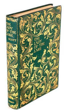 The lady of the Lake by Sir Walter Scott   1904, Cover design by F H Townsend 1868-1920