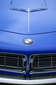 1958 Bmw 507 Series II Raodster Hood Emblem - Car Images by Jill Reger