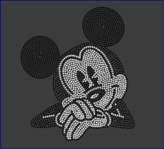 Disney's MICKEY MOUSE Inspired Fan Art by RhinestonesTransfers