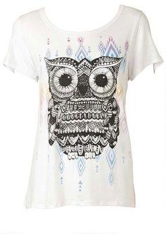 Aztec Owl Tee - Alloy Apparel #MyAlloy