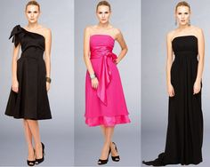 love the black one shoulder, but want it to be hot pink...