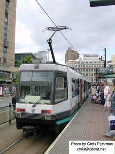 Tram, Manchester