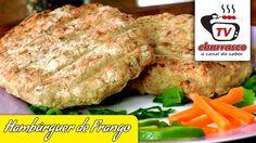 Receita de Hambúrguer de Frango - Tv Churrasco
