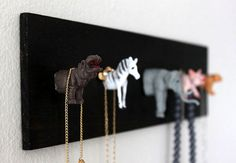 Luisa's Necklace Zoo | Refashion Nation
