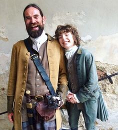 The most adorable photo from the most adorable scene this week. Thanks for sharing, Metin Hüseyin! #BehindTheScenes #Outlander