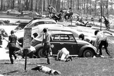 Kent State massacre in May of 1970