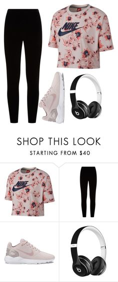 """""""Untitled #56"""" by evelinefeitosaneres on Polyvore featuring NIKE, Eileen Fisher and Beats by Dr. Dre"""