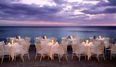 Round Hill Hotel and Villas: The on-site restaurant offers delectable fresh dishes from the ocean right in front of you.