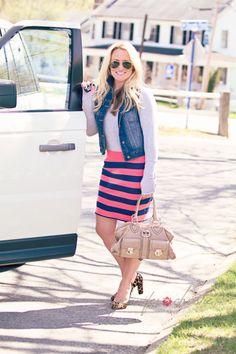 #OOTD: Comfy Pencil Skirt