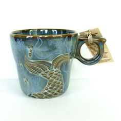 Starbucks 2014 Siren Collection Mug Coffee Cup Siren's Tail Anniversary Ceramic